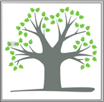 Lincoln Glen Logo:  Image of an Oak Tree